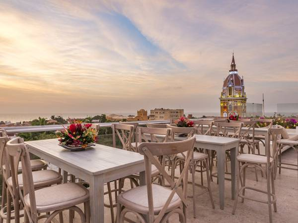360 terrace movich cartagena de indias hotel