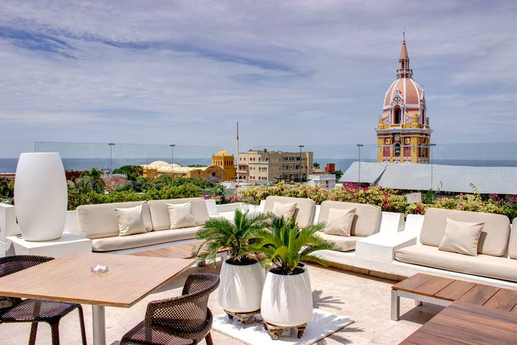 Terrace movich cartagena de indias hotel